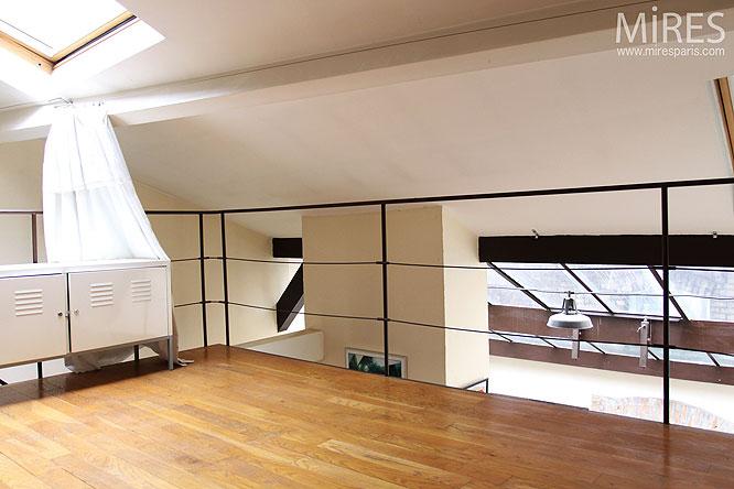 Chambre Sous Combles C0303 Mires Paris