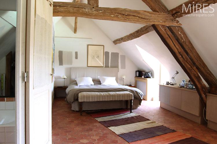 Chambre Sous Combles C0349 Mires Paris