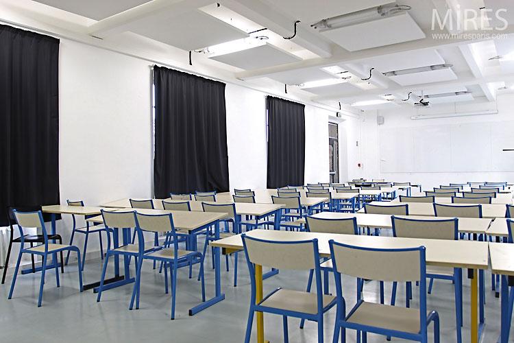 Salle De Classe Blanche C0438 Mires Paris