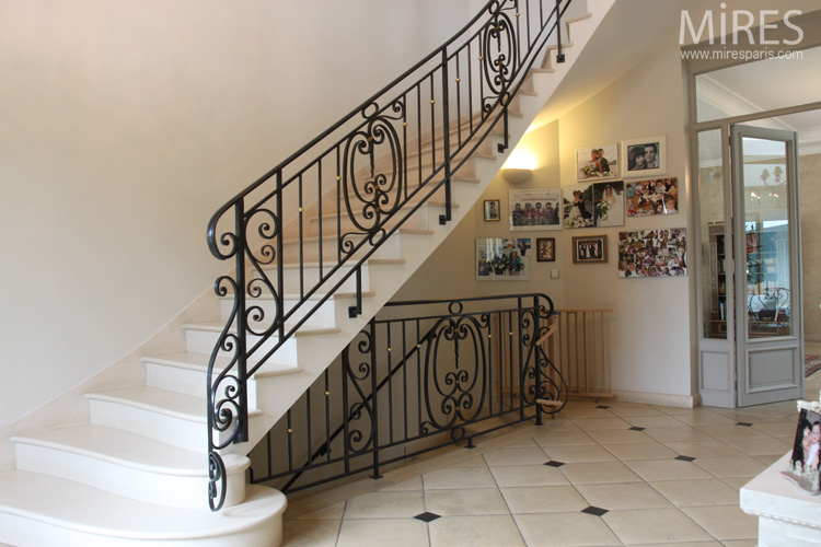 Wrought Iron Railings Stair And Balustrades C0568 Mires