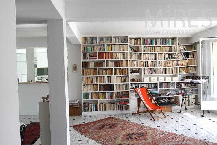 Salon Bibliothque C0834 Mires Paris