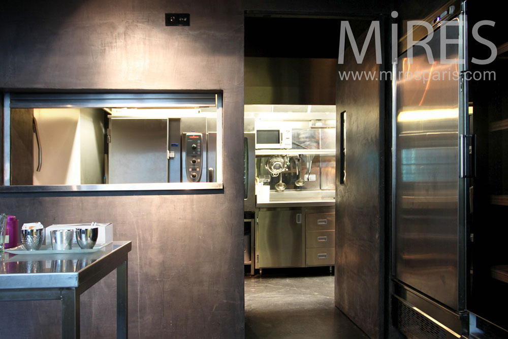 Cuisine Mtal Passe Plat C0962 Mires Paris