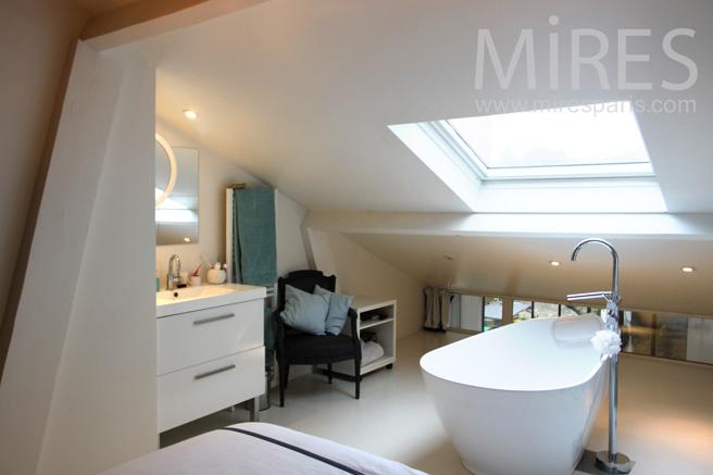 Chambre Avec Baignoire Centrale C1143 Mires Paris