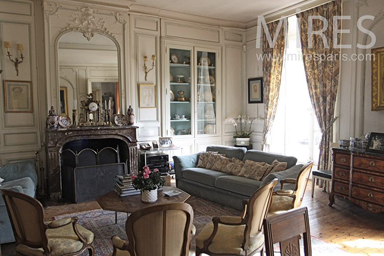 Beau Salon Bourgeois C1258 Mires Paris