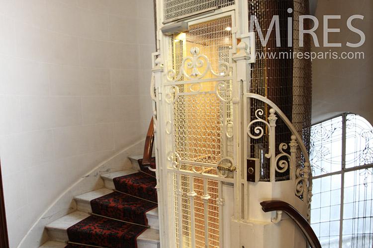 Ascenseur Mires Paris