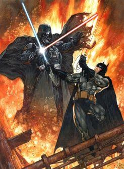 Бэтмен против Дарта Вейдера
