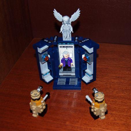 Доктор в деталях. Обзор набора LEGO® Doctor Who 7