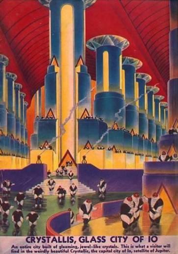 Галерея несбывшегося будущего. Другие планеты 35