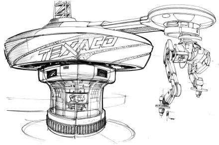 Техника из «Назад в будущее 2» на концепт-артах 11