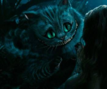 Чеширские коты в экранизациях 1999 и 2010 годов — в исполнении Вупи Голдберг и Стивена Фрая соответственно