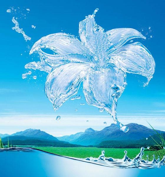 Картинки и фото воды - капли, брызги, волны
