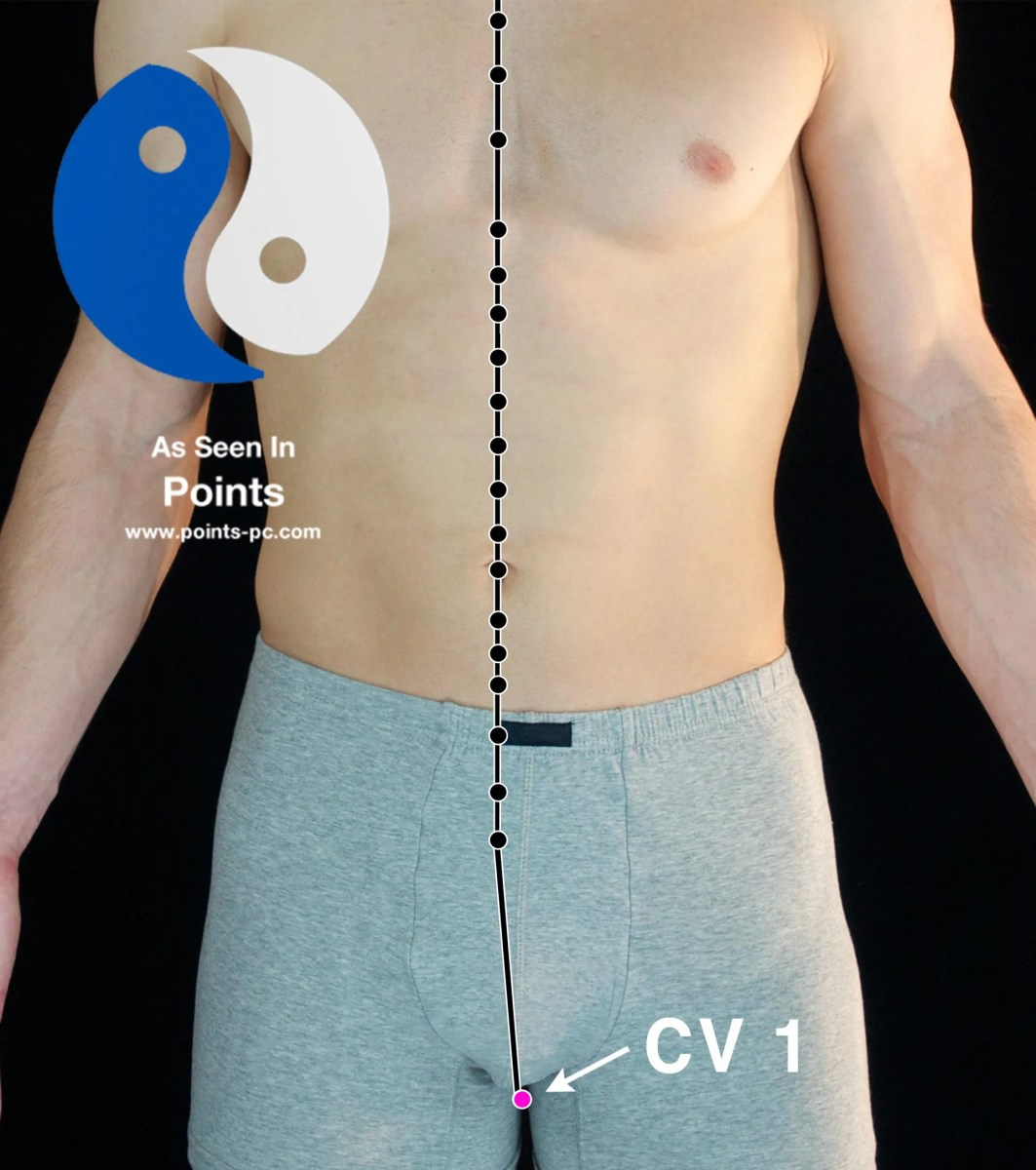Acupuncture Point: Conception Vessel 1