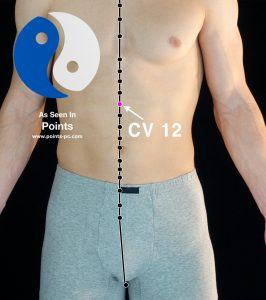 Acupuncture Point CV 12