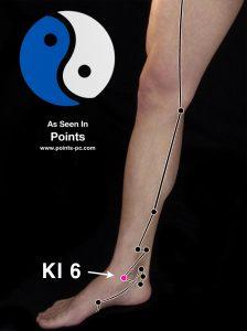 Acupuncture Point KI 6