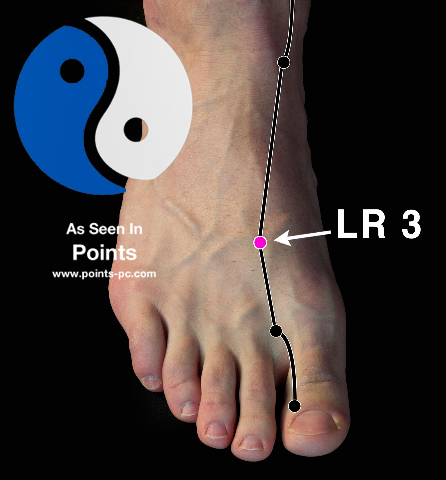 Acupuncture Point: Liver 3 - Acupuncture Technology News