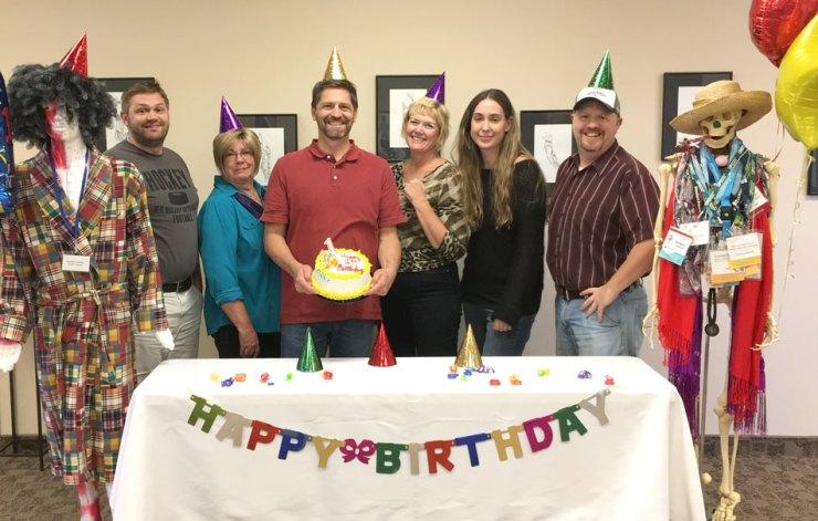AcuGraph staff-birthday