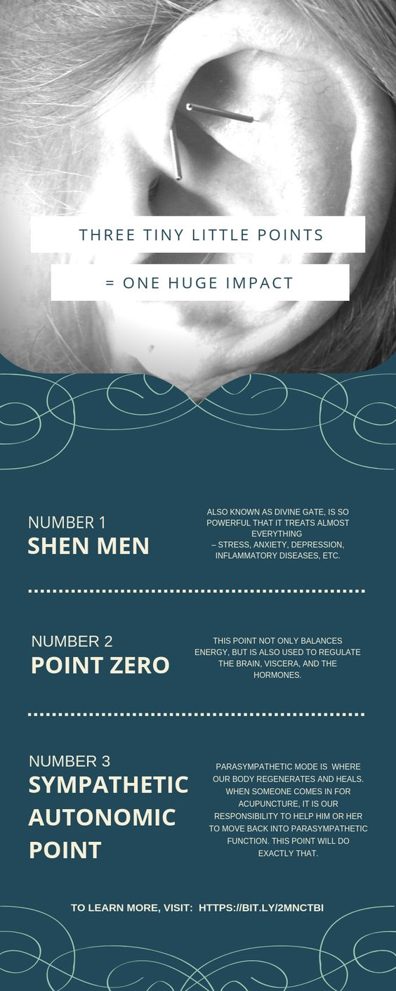 Three Tiny Little Points = One Huge Impact - Acupuncture