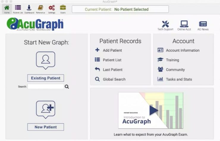 Homepage redesign - exciting new features in AcuGraph
