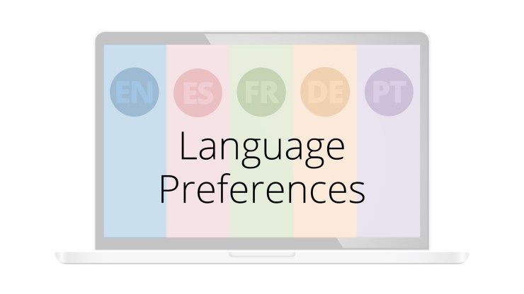 Auriculo 360 new feature language preferences
