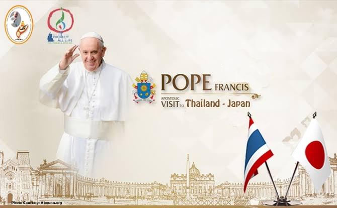 Komsos KWI, Konferensi Waligereja Indonesia, Kunjungan Negara Jepang, Kunjungan Negara Thailand, Paus Fransiskus, Pesan Video