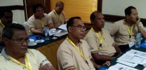 """Peserta workshop """"Workplace Conflic Management and Public Speaking Skill"""" yang digagas oleh Komisi Komunikasi Sosial dan Komisi Seminari KWI di Yogyakarta (Foto : Dokumen Komsos KWI)"""