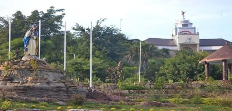 Bukit Oebelo yang gersang berubah menjadi Taman yang Indah