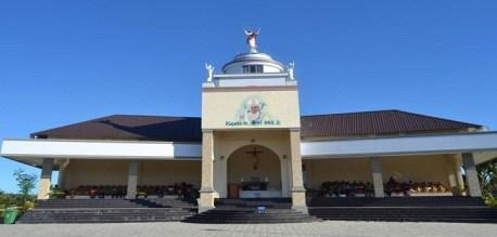 Kapel St. John Paul II, ilustrasi dari fb Taman Ziarah Yesus Maria Oebelo
