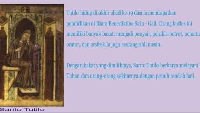 28 Maret, katekese, Komsos KWI, Konferensi Waligereja Indonesia, KWI, Para Kudus di Surga, Santo Rupertus, Santo Jonas dan Barachisius, Santo Tutilo, santo santa, teladan kita