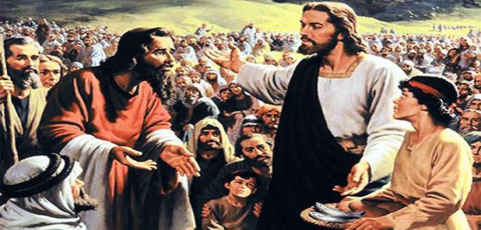 Belas kasih Yesus kepada orang banyak