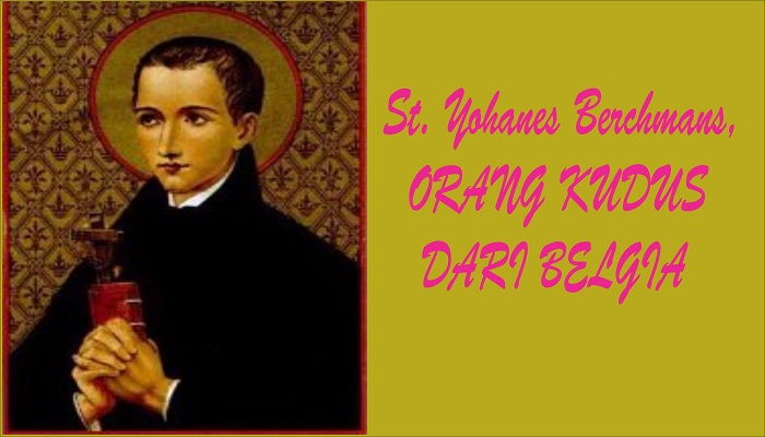 Image result for St. Yohanes Berchmans