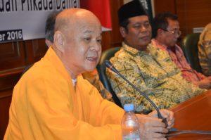 Ketua Umum Salah satu Majelis yang tergabung di Walubi, yang juga eks ketua Dewan Sangha/Dewan Dakwa Walubi, Suu Beni