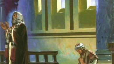 Cara berdoa Seorang Farisi dan Seorang Pemungut Cukai