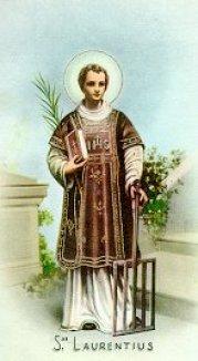 Santo Laurensius : 10 Agustus – Mirifica News
