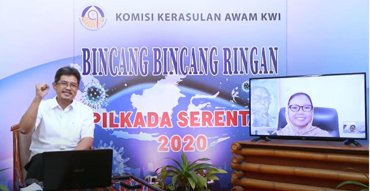 Desember 2020, gereja katolik, Indonesia, katekese, kerawam kwi, Komsos KWI, Konferensi Waligereja Indonesia, KPU, Perludemi, Pilkada 2020, Pilkada Pandemi, umat katolik, yesus kristus