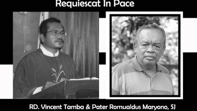 RIP, Requiescat In Pace, Pater Romualdus Maryono SJ, RD Vincent Tamba, Keuskupan Pangkalpinang, Keuskupan Agung Semarang, Komsos KWI, Konferensi Waligereja Indonesia