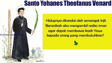 02 Februari,Yohanes Theofanus Venard, Santa Brigita dari Irlandia, Tuhan, katekese,katolik,Komsos KWI,Konferensi Waligereja Indonesia,KWI,Para Kudus di Surga,putera allah,santo santa,Sukacita,teladan kita