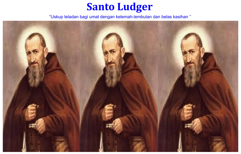 Santo Ludger