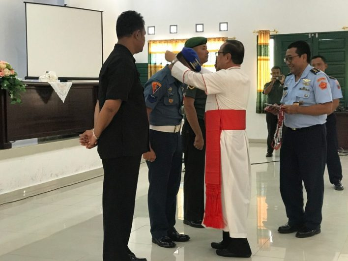 Kardinal Ignatius Suharyo, Komsos KWI, Konfereni Waligereja Indonesia, Natuna, Uskup TNI-POLRI