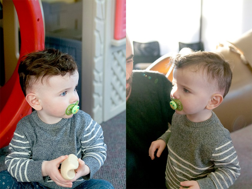 Losing Locks: First Haircut