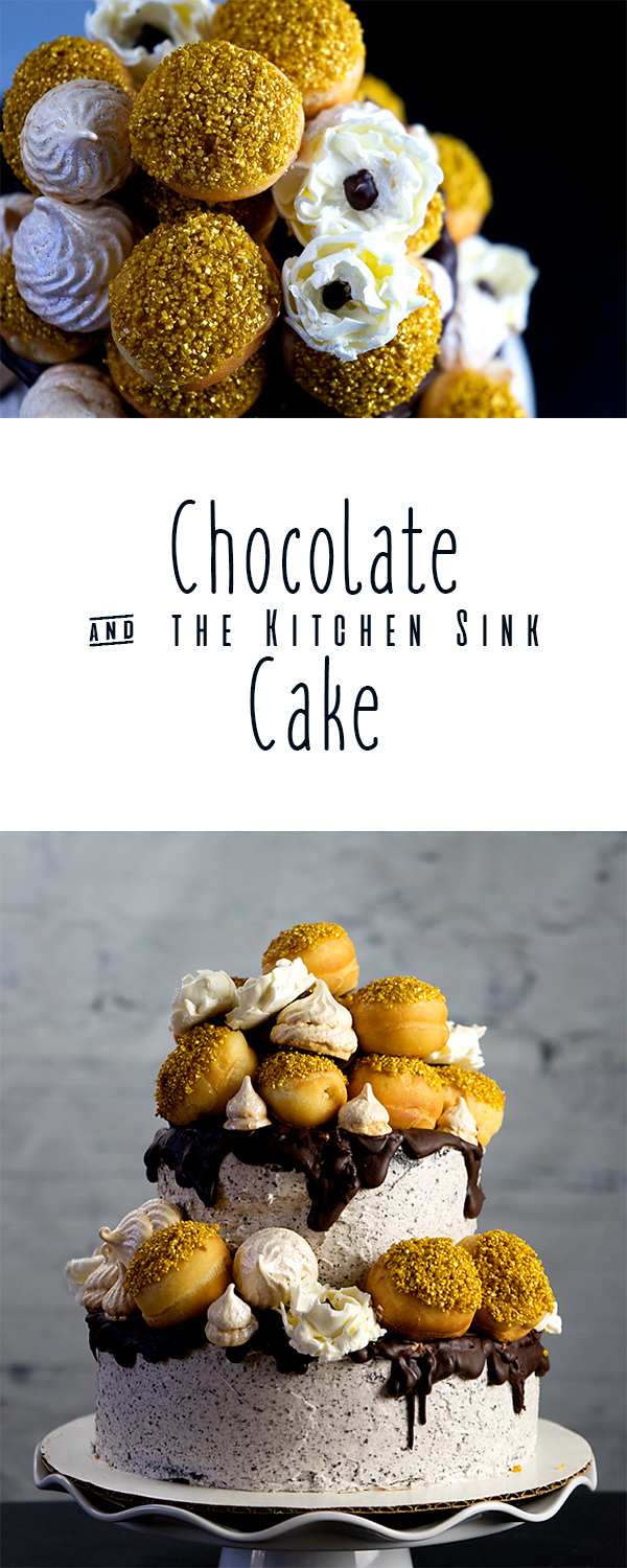 Chocolate & the Kitchen Sink Cake