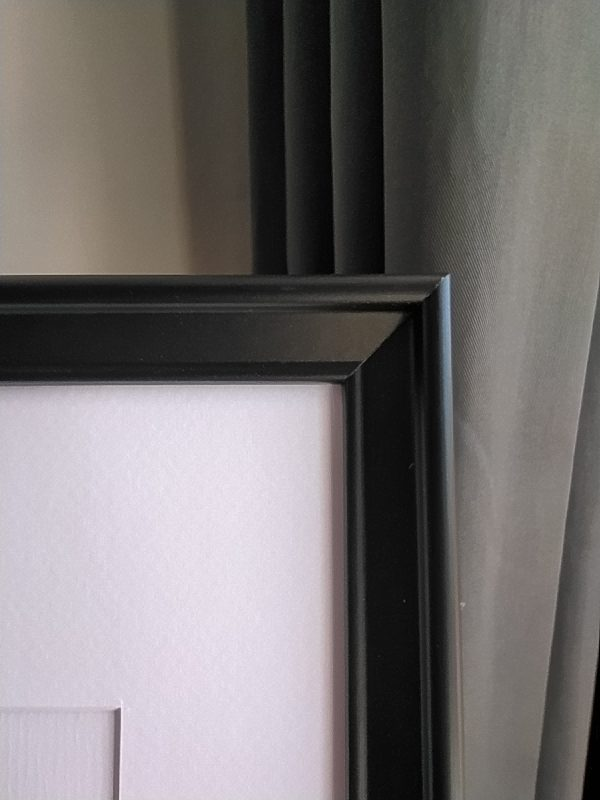 frame, black, detailed photo