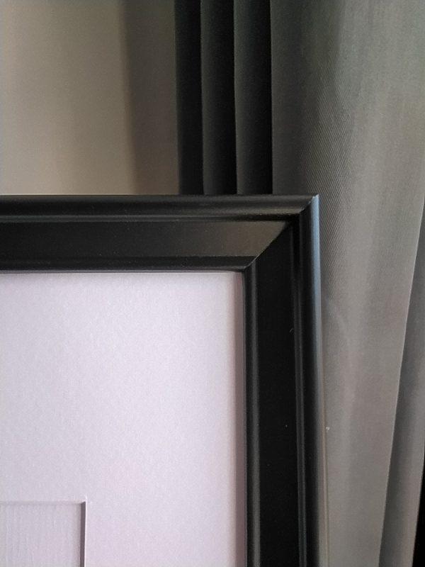 frame, black, detailed photo