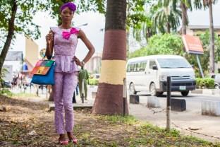 Lagos, Nigeria streetstyle fashion - (c) Mirjam van den Berg