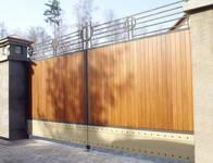 Красивые деревянные ворота фото, деревянные калитки и ...