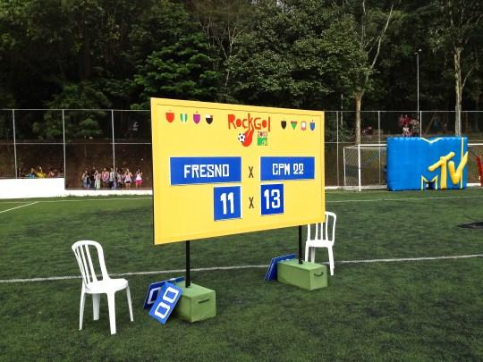 Placar de futebol