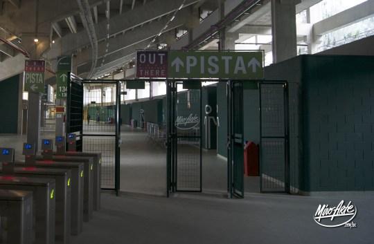 Sinalização Interna Allianz Parque