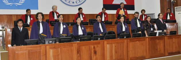 Khmer Rouge Trials: The Rocky Road to Judicial Legitimacy