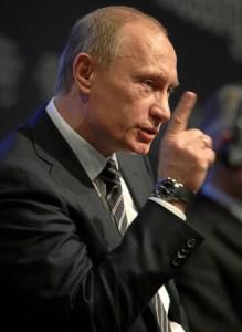 Putin at the World Economic Forum. Flickr Creative Commons (http://tinyurl.com/lknp9l3)