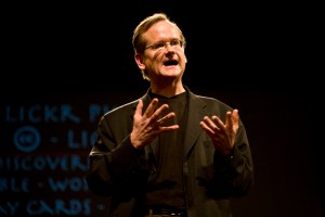 Lessig is the Roy L. Furman Professor of Law at Harvard Law School and the director of the Edmond J. Safra Center for Ethics at Harvard University
