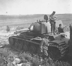 Hair of the dog that bit them. While the welcoming flatlands proved to be Russia's greatest vulnerability in history, it was also Russia's greatest asset. No other country had such an easy time forcing enemies out through such a fortuitous avenue. Pictured here is a Soviet tank during the Nazi retreat of 1944 in present-day Belarus. Image.